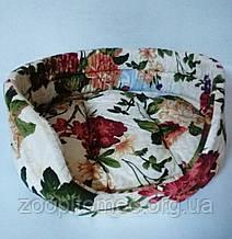 Лежак цветной для котов и собак 35х28х12 см