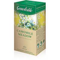 Чай Гринфилд Camomile Meadow  травяной с ромашкой 25 пакетов