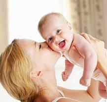 Быть мамой малыша - вот это счастье!