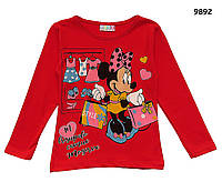 Кофта Minnie Mouse для девочки. 86-92;  110-116;  122-128 см, фото 1