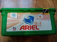 Капсулы для стирки универсал Ariel Sensitive 28 шт, фото 1