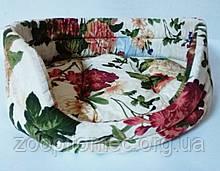 Лежак цветной для котов и собак 42х33х16 см