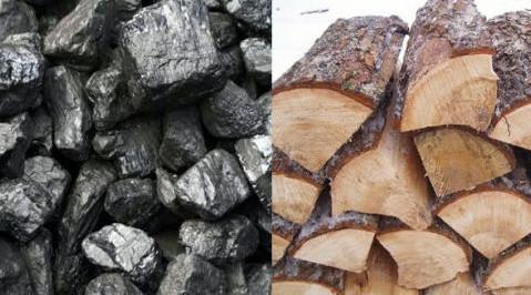 дрова или уголь для твердотопливного котла длительного горения огонек