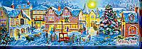 Набор для вышивания бисером Рождественские гуляния AB-453