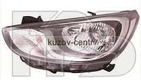 Фара правая на Hyundai Accent (Хюндай, Хундай Акцент) 11-