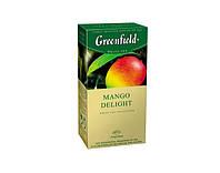 Чай Гринфилд Mango Delight белый с манго 25 пакетов по 1.8г