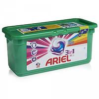 Капсулы для стирки цветного Ariel 3в1 28 шт, фото 1