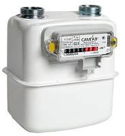 Мембранный счетчик газа G4 Самгаз (Samgas), в двух модификациях, вертикальный монтаж, 220х171х193 мм