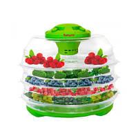 Электросушилка для фруктов,овощей,грибов Saturn ST-FP0112 Green,Сушка для продуктов