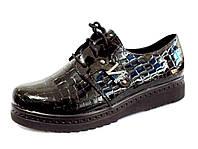 Ботинки женские на шнурках  р.(36-40)