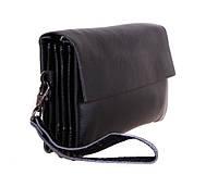 Деловая мужская барсетка-клатч черная