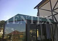 Тент на стеклянную крышу.