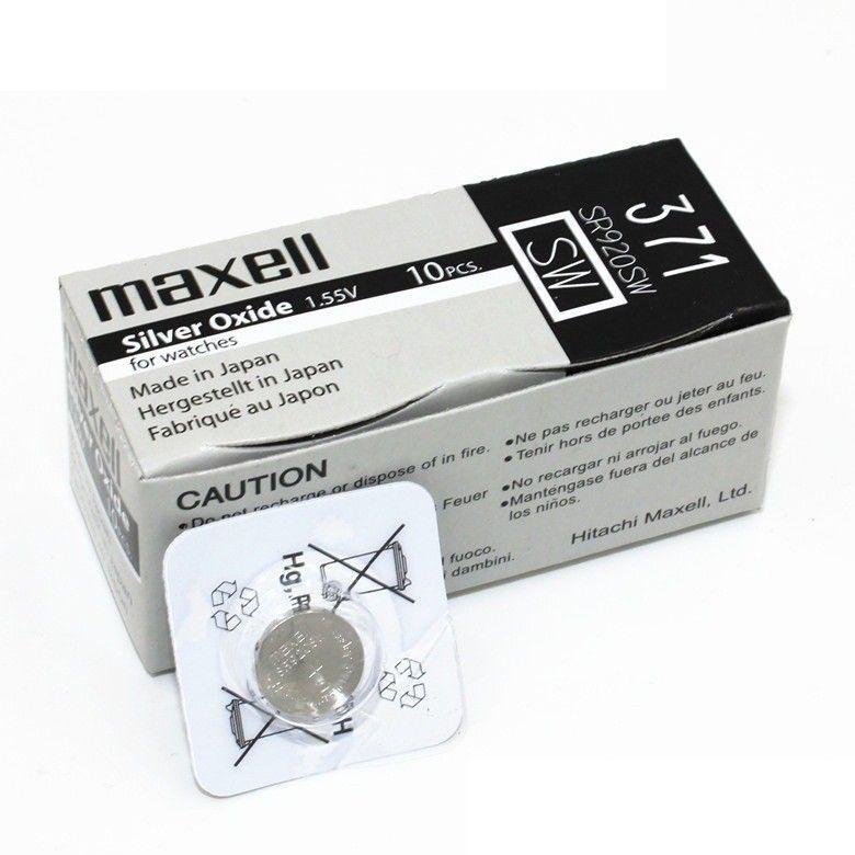 Часовая батарейка Maxell 371/ SR920SW