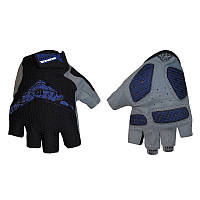 Велоперчатки текстильные SCOYCO ВG13-B (открытые пальцы, р-р S-XXL, синий), фото 1