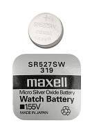 Часовая батарейка Maxell 319/ SR527SW