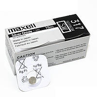 Часовая батарейка Maxell 317/ SR516SW