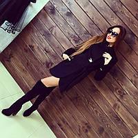 Женское красивое пальто из кашемира (4 цвета), фото 1