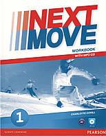 Рабочая тетрадь Next Move 1 Workbook + CD