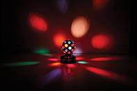 Ночник  светильник Вращающийся Шар с Цветными Огоньками