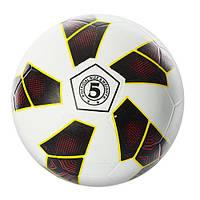 Мяч футбольный VA 0019, размер 5, резина, гладкий, 350г
