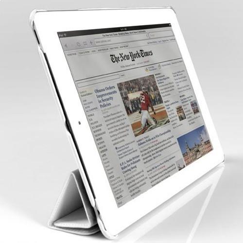 Чехол для iPad 2/3/4 JustCase White