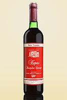 Вино полусухое красное Корал Винодельческая станция