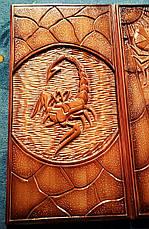 """Нарды ручной работы """" Скорпион vs Паук """", фото 3"""
