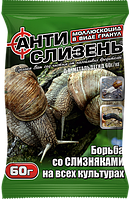 Средство от слизней моллюскоцид Антислизень 60 г  Агромакси