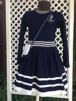 """Платье для девочки """"Морячка"""",размеры от 98 - 128 см"""