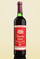 Вино сухое красное Одесский черный Винодельческая станция