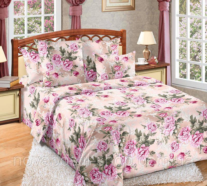 Комплект постельного белья Белый сад (бязь, 100% хлопок)