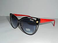 """Солнцезащитные очки """"кошачий глаз"""" Versace 6957, очки стильные, модный аксессуар,очки, женские очки,качество"""