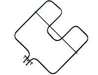 Ардо 1,6кВт — ТЭН для электродуховки, нижний, широкий, нержавейка 6.5мм, 111 112 0195 Şanal (Турция)