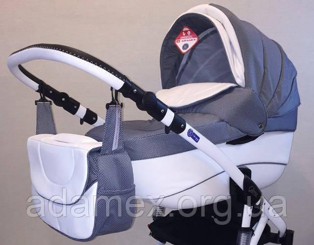 Детская универсальная коляска 2 в 1 Adamex Gloria