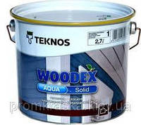 WOODEX AQUA SOLID (Вудекс Аква Солид)  Кроющий антисептик для древесины