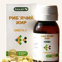 Экосвит ОЙЛ Рыбий жир капсулы 0,3 г №60