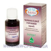 Черноплодной рябины, аронии экстракт (против атеросклероза, очистка вен)