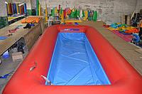 Бассейн надувной для водной горки
