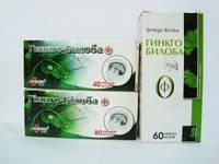 Гинкго-Билоба-Ф, таблетки 0,5 г №40