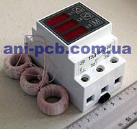 Токовая защита 3х-фазных двигателей ТЗД-3Ф-100