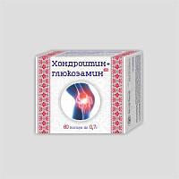 ХОНДРОИТИН+ГЛЮКОЗАМИН капсулы 0,7 г №60