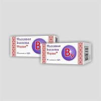 Фолиевая кислота форте Smart Element™, таблетки 0,25 г № 60