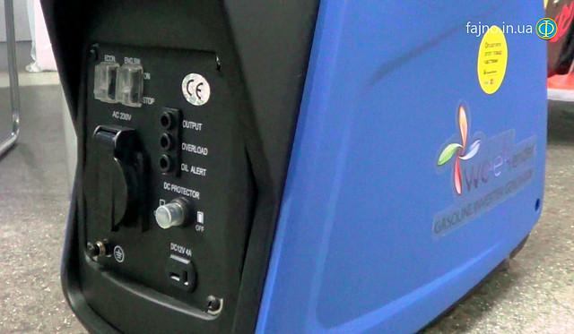 Инверторный генератора Weekender 1200i фото 5