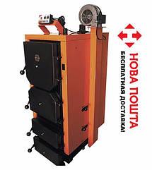 Котел твердотопливный длительного горения с автоматикой Донтерм КОТ-10 Т, 10кВт