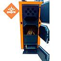 Котел твердотопливный длительного горения с автоматикой Донтерм КОТ-13 Т, 13кВт, фото 3