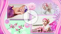 Шаблоны слайд-шоу «Наша маленькая принцесса»