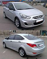 Hyundai accent 2011-2014 фары акцент Оригинал передние и противотуманки (хюндай акцент), фото 1