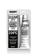 Силиконовый герметик - прозрачный(+204*С) Runway RW8502