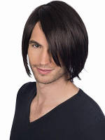 Парик из натуральных волос. Прямые волосы