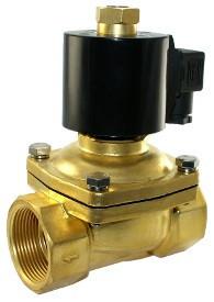 "Клапан электромагнитный 1""1/2, норм.-закр., KLQD 2W200-40NC, 220В"